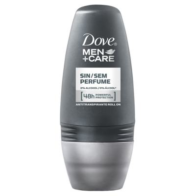 Imagem 3 do produto Kit Dove Men Care Desodorante Aerosol Silver Control 89g + Desodorante Roll On Sem Perfume 50ml