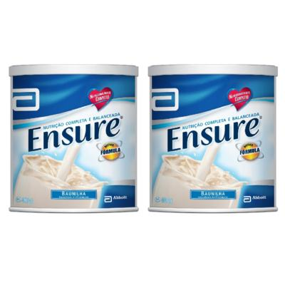 Imagem 3 do produto Complemento Alimentar Ensure Baunilha 400g 2 Unidades