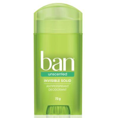 Imagem 1 do produto Desodorante Ban Stick Unscented Sem Perfume 73g