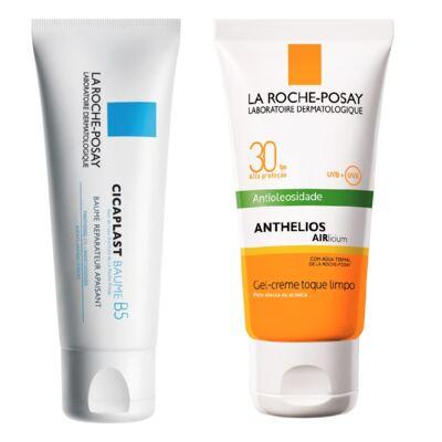 Imagem 1 do produto Anthelios Airlicium FPS 30 La Roche-Posay 50g + Cicaplast Baume B5 40ml