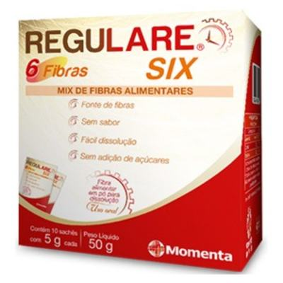 Fibra Alimentar Regulare Six 5g C/ 10 Sachês