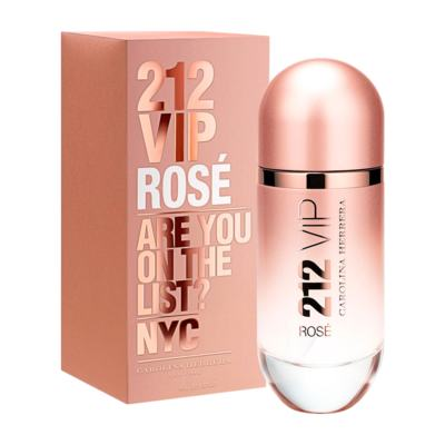 Imagem 1 do produto 212 Vip Rose De Carolina Herrera Eau De Parfum Feminino - 30 ml