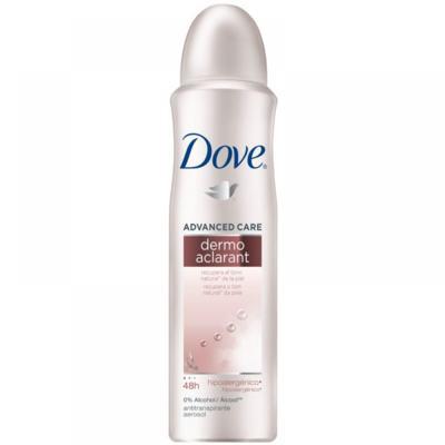 Imagem 2 do produto Kit Dove Dermo Aclarant Desodorante Aerosol Feminino 100g + Desodorante Roll On 50ml