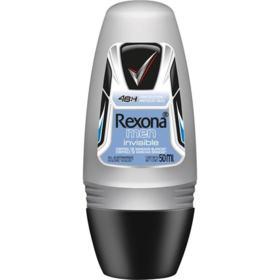 Desodorante Roll-On Rexona Masculino - Invisible | 50mL