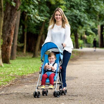 Imagem 6 do produto Carrinho de Bebê Guarda-chuva Weego Way Azul