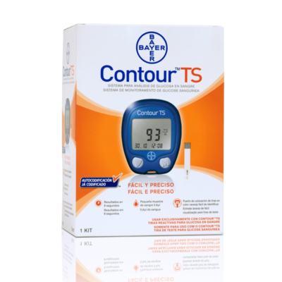 Imagem 2 do produto Kit Bayer Contour TS Com 10 Tiras + 100 Tiras