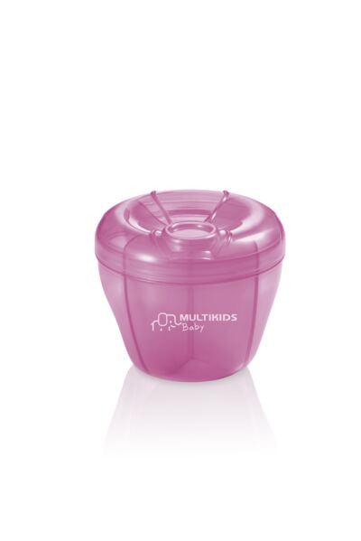 Imagem 1 do produto Dosador de Leite Em Pó Funny Meal Rosa Multikids Baby - BB058