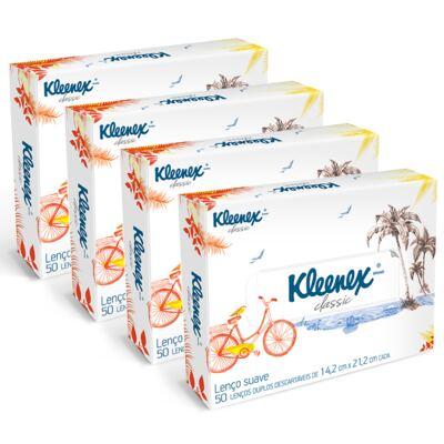 Imagem 1 do produto Lenço de Papel Kleenex Box Misto 200 Folhas