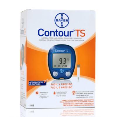 Imagem 2 do produto Kit Contour TS Com Bayer 10 Tiras + Contour TS Bayer 50 Tiras