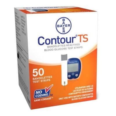 Imagem 3 do produto Kit Contour TS Com Bayer 10 Tiras + Contour TS Bayer 50 Tiras