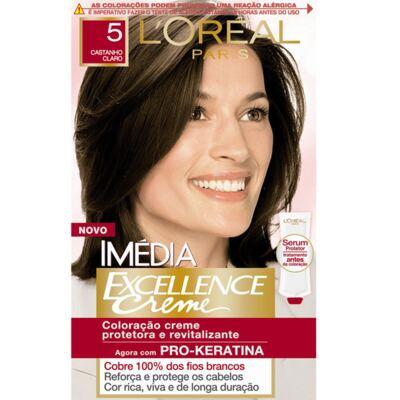 Imagem 1 do produto Tintura Imédia L'Oréal  5 Castanho Claro