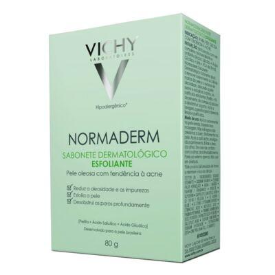 Sabonete Dermatológico Esfoliante Vichy Normaderm 80g