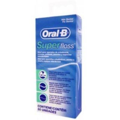 Imagem 1 do produto Fio Dental Oral-B Super Floss - 50m