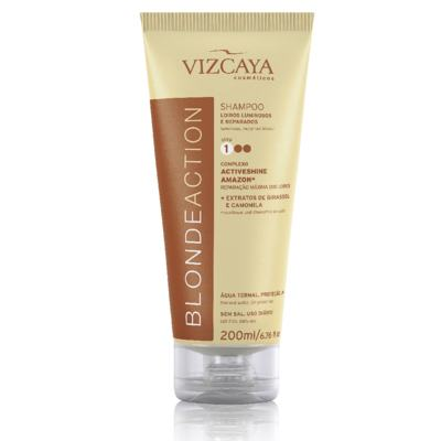 Shampoo Vizcaya Blonde Action 200ml