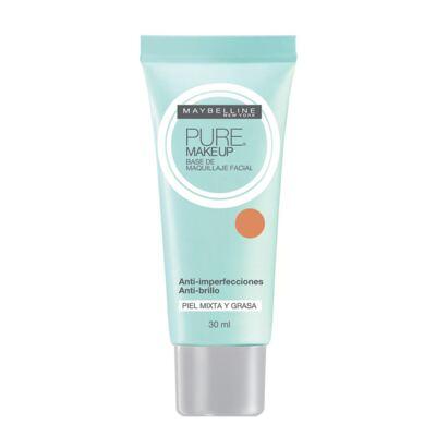 Pure Makeup Maybelline - Base Facial - Beige Médio