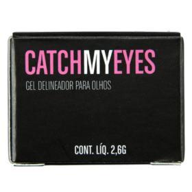 Gel Delineador para Olhos Océane - Catch My Eyes - Black