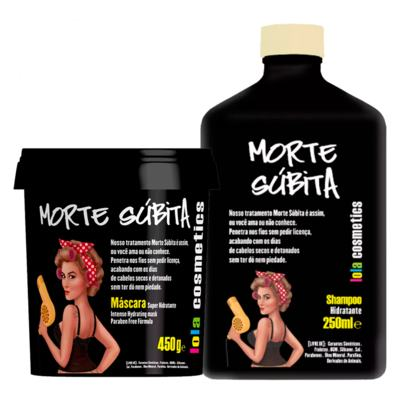 Imagem 1 do produto Lola Cosmetics Morte Súbita Kit - Shampoo + Máscara - Kit