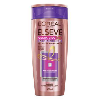 Imagem 3 do produto Kit Shampoo + Condicionador L'Oréal Paris Elseve Quera-Liso Leve e Sedoso - Kit