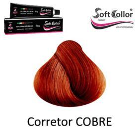 Coloracao Profissional SOFTCOLLOR PERFECT 60g - MIXTOM CORRETORES - MIX Corretor COBRE