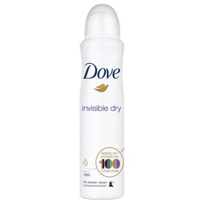 Desodorante Dove Aerosol Invisible Dry  Feminino - 100g