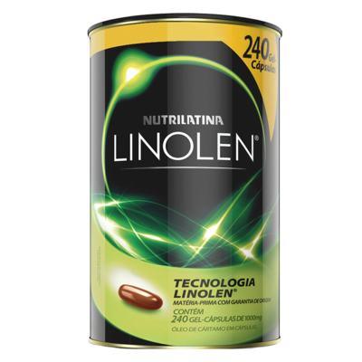 Imagem 1 do produto Linolen Nutrilatina - Redutor de Medidas - 240 Gel-Cáps