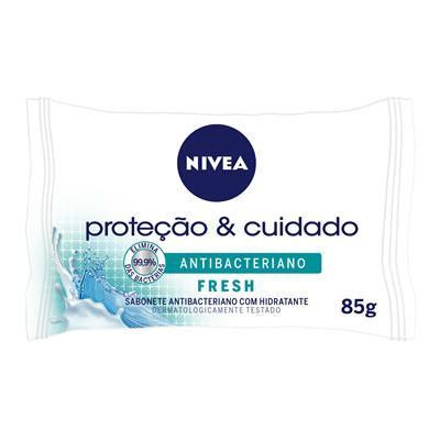 Imagem 2 do produto Sabonete Nivea Antibacteriano Fresh 85g -