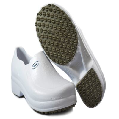 Imagem 2 do produto Sapato Profissional Babuch BB65 Branco Soft Works - 36