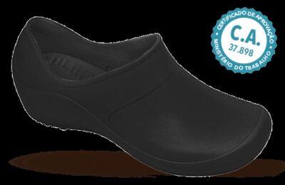 Sapato Profissional Feminino Mary Preto Boa Onda - 34