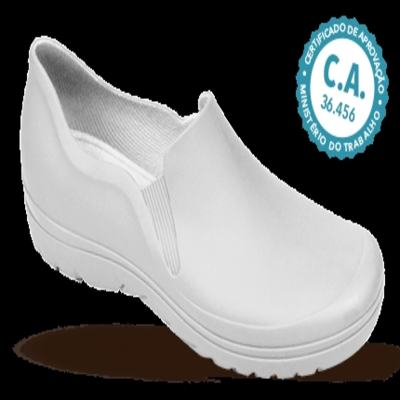Imagem 1 do produto Sapato Profissional Masculino Enzo Branco Boa Onda - 40