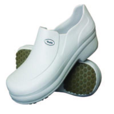 Sapato Profissional Babuch BB65 Branco Soft Works - 43