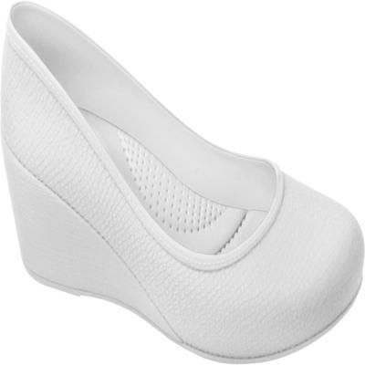 Sapato Profissional Feminino Caren Branco Boa Onda - 37