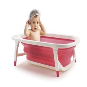 Banheira Dobrável Flexi Bath Rosa Multikids Baby - BB160 - BB160