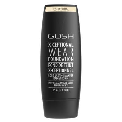 Imagem 1 do produto Base Facial Gosh Copenhagen - X-ceptional Wear Foundation - Natural