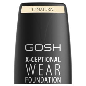 Base Facial Gosh Copenhagen - X-ceptional Wear Foundation - Natural