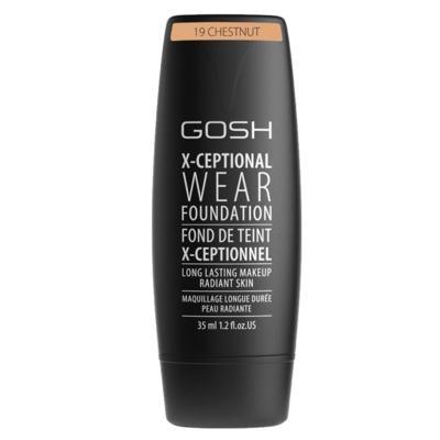 Imagem 2 do produto Base Facial Gosh Copenhagen - X-ceptional Wear Foundation - Chestnut