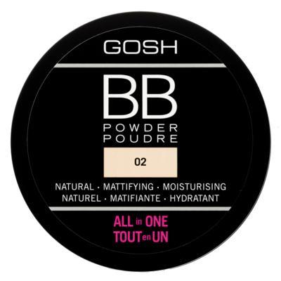 Imagem 1 do produto Pó Facial Gosh Copenhagen - BB Powder - Sand
