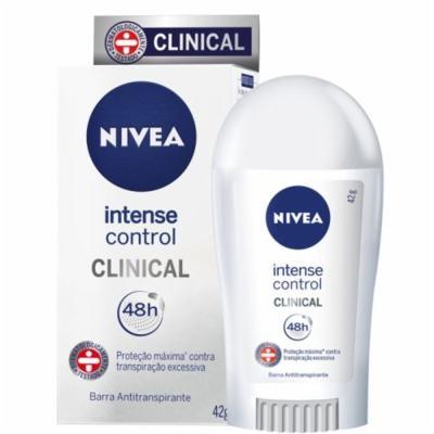 Imagem 1 do produto Desodorante Nivea Clinical Intense Control 42g - 42g