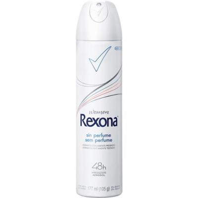 Desodorante Antitranspirante Rexona Women - Sem Perfume Aerosol | 175ml