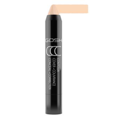 Imagem 2 do produto Contorno e Iluminador Facial Gosh Copenhagen - CCC Stick - Contour, Cover & Conceal - Light