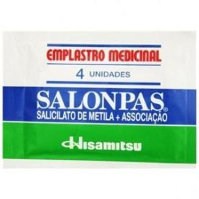 Imagem 1 do produto Salonpas Emplastro Pequeno 4 unidades