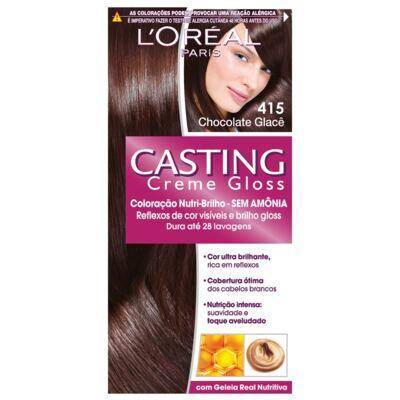 Imagem 1 do produto Tintura L'Oréal Casting Gloss 415 Chocolate Glacê
