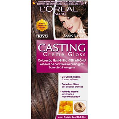 Imagem 1 do produto Tintura L'Oréal Casting Gloss 600 Louro Escuro