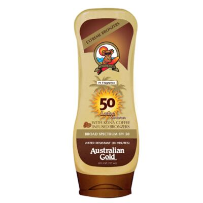 Imagem 1 do produto Kona Coffee Instant Bronzers SPF 50 Australian Gold - Protetor Solar - 237ml