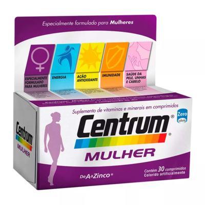 Imagem 1 do produto Centrum Mulher - 30 Comprimidos