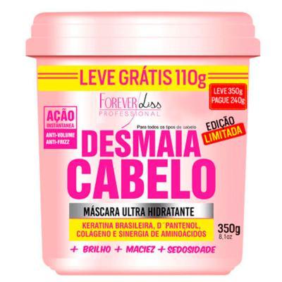 Imagem 1 do produto Forever Liss Desmaia Cabelo - Máscara Ultra Hidratante - 350g