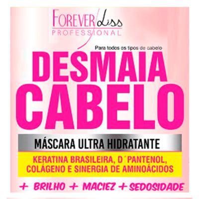 Imagem 2 do produto Forever Liss Desmaia Cabelo - Máscara Ultra Hidratante - 350g