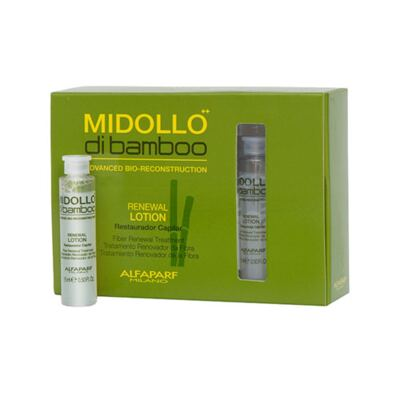 Imagem 1 do produto Alfaparf Renewal Lotion Midollo di Bamboo - Tratamento Reconstrutor - 12x 15ml
