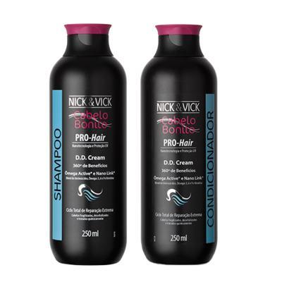 Kit Shampoo + Condicionador Nick & Vick Pro-Hair DD Cream - Kit