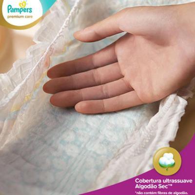 Imagem 2 do produto Fralda Descartável Pampers Premium Care Mega Tamanho P 56 Unidades