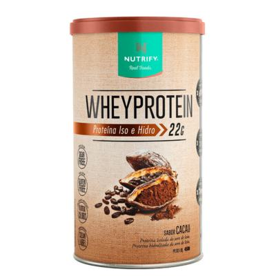 Whey Protein - 450G - Nutrify - Whey Protein - 450G - Nutrify - Cacau
